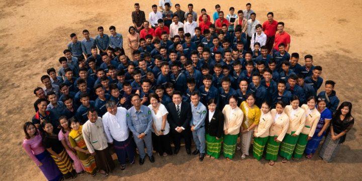 パアン技術訓練学校 オープニングセレモニー 2020年2月